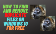 best free duplicate file finder and remover