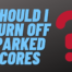 Should I Turn Off Parked Cores