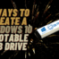 How to Create a Windows 10 Bootable USB Drive for FREE