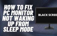 pc stuck in sleep mode