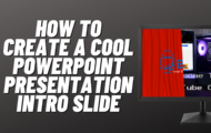 PowerPoint Introduction Slide