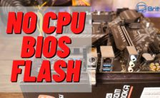 How to Flash Your BIOS Without a CPU, RAM or GPU