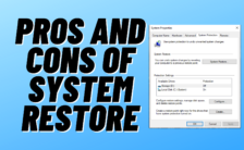 what is system restore used for?