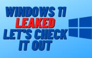 Windows 11 Leak Confirms Release