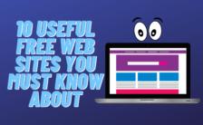 10 amazing websites