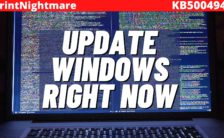 Microsoft issues emergency Windows patch to fix critical 'PrintNightmare' vulnerability.