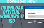 How to Get a Windows 11 ISO File