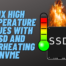 Fix overheating ssd or nvme