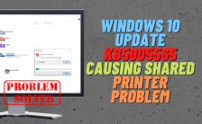 Windows cannot connect to the printer error 0x0000011b operation failed
